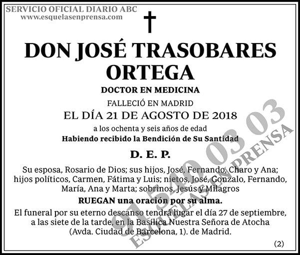 José Trasobares Ortega